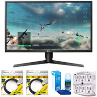 """LG 27"""" Class Full HD Gaming Monitor with FreeSync 2018 Model + Cleaning Bundle"""