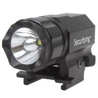 SecurityIng 600LM Tactical CREE LED Gun Light R5 Rail Mount Pistol Flashlight