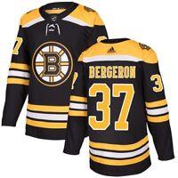 Boston Bruins Adidas #37 Patrice Bergeron NHL Mens Hockey Jersey Home/Away