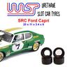 Urethane Slot Car Tyresx4 Wasp 19 SRC Ford Capri Rear