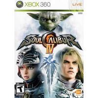 Soul Calibur IV (Microsoft Xbox 360, 2008) GOOD