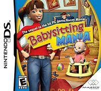 Babysitting Mania (Nintendo DS, 2008) CART ONLY