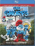 The Smurfs (Blu-ray Disc, 2011, 3-Disc Set, Canadian Christmas Carol Combo Pack