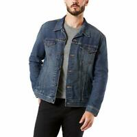 Levi's Signature Gold by Levi Strauss NEW Elvis Blue Men's Trucker Jean Jacket