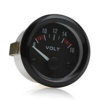 2'' 52mm Car Auto Motorcycle Volt Voltmeter Voltage Meter Gauge 8-16V Tester