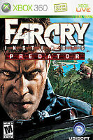Far Cry Instincts: Predator (Microsoft Xbox 360, 2006) GOOD