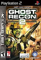 Tom Clancy's Ghost Recon 2 (Sony PlayStation 2, 2004)G