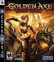 Golden Axe: Beast Rider (Sony PlayStation 3, 2008) DISC IS MINT