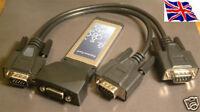 RS-232  2 port  Serial 9Pin  ExpressCard Express 16C950