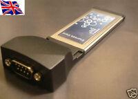 RS232  1 port  Serial 9Pin  ExpressCard Express 16C950