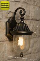 Applique extérieur lanterne murale lampe de jardin 8099