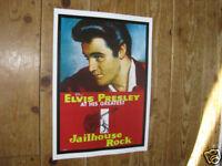 Elvis Presley Jailhouse Rock Repro POSTER