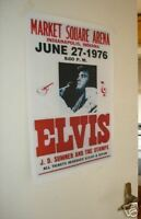 Elvis Presley Repro Tour Poster Indianapolis Indiana