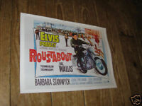 Elvis Presley Roustabout Advertising Repro POSTER