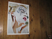 Kylie Minogue Staggering New Colour Poster Face