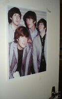 The Beatles Early Group Repro Door Poster Stripe