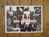 The Clash 1952 2002 Joe Strummer Poster