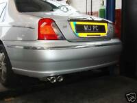 Custom Built ROVER MG 75 1.8T STAINLESS STEEL EXHAUST