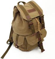F2002 Canvas DSLR Camera Bag Backpack Rucksack Bag