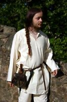 Medieval/LARP/VIKING heavy cotton Linen shirt ALL SIZES