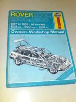 HAYNES MANUAL ROVER 2000 2300 2600 1977 TO 1985