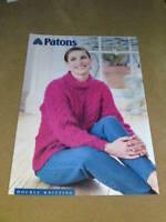 PATONS KNITTING PATTERN DK  D 2187