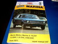 Morris Marina Workshop Manual