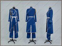 FullMetal Alchemist Cosplay Roy Uniform Costume
