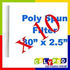 "30"" x 2.5"" Poly Spun Sediment Filter 1 or 5 Micron Filter Bulk x 10"