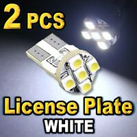 CHEVY T10 168 SMD LED LICENCE PLATE LIGHT BULBS WHITE