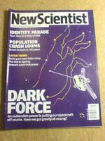 NEW SCIENTIST - DARK FORCE - 20 July 2002 # 2352