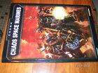 Codex Chaos Space Marines Warhammer 40000 en anglais