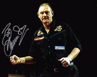 BOB ANDERSON Darts Legend HAND SIGNED 10x8 Photo AFTAL