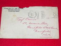 Envelope from Stoke City FC 1959