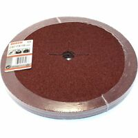 "10 BOSCH FIBRE SANDING DISCS 235MM 40G FOR 230MM / 9"" ANGLE GRINDER - GERMANY"