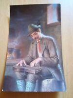 Ansichtskarte 914 Zither Zitherspieler Musiker Künstler