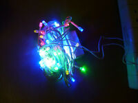 MULTI 10M XMAS 100 LED CHRISTMAS PARTY STRING LIGHTS FAIRY HOME WEDDING WORK WWL