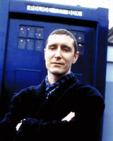 PAUL MCGANN The Doctor HAND SIGNED Dr Who The Tardis 10x8 Photo AFTAL