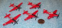 Lot of 5  Micro Machines P-51 Mustang miniature  NEW