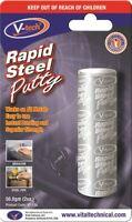 VT-138 Quality V-Tech Brand Rapid Steel Epoxy Patty (56.8gm)