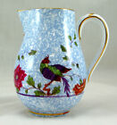 Crown Staffordshire BIRD OF PARADISE F8393 Small Hot Water Jug No Lid 4.5 in.