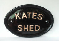 Personalised  Size 1Name Plaque,  Any Message, Any Name, Playhouse, Home Bar,