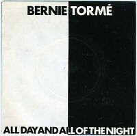 "BERNIE TORME John McCoy All Day And All Of The Night 7"" Gillan heavy metal"