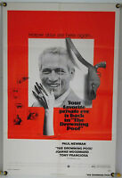 THE DROWNING POOL FF ORIG 1SH MOVIE POSTER PAUL NEWMAN, JOANNE WOODWARD (1976)
