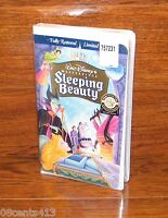 Sleeping Beauty (Fully Restored VHS, 1997, Limited Edition) Disney!! **NEW**