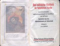 Missale Romanum Vollständiges Meßbuch Katholische Kirche Benediktiner Ilbenstadt