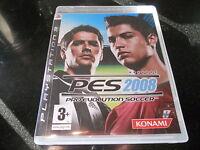Sony Playstation 3 (PS3) Pro Evolution Soccer 2008 (PS3)