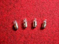 4 Lampen für BLAUPUNKT  14V  0,1A  BA7s *Birnen* *lamps*