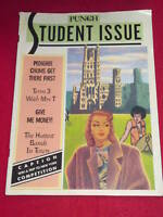 PUNCH Student Issue 1987