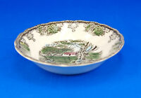 Johnson Brothers THE FRIENDLY VILLAGE Fruit / Dessert Bowl 5.125 in. STONE WALL